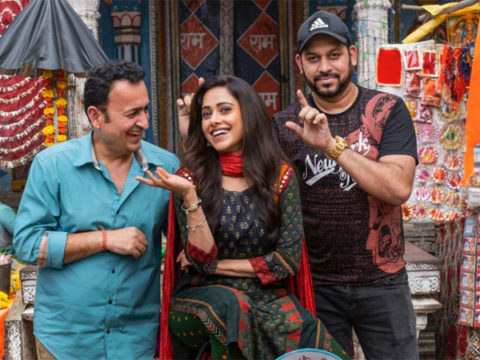 """""""Excited to be part of India's first female franchise backed by Bhanushali Studios,"""" says Nushrratt Bharuccha as she starts shooting for Janhit Mein Jaari"""