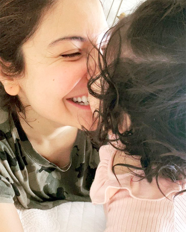 """Making me braver and more courageous every day"", says Anushka Sharma as he celebrates Durga Ashtami with daughter Vamika"