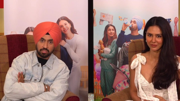 CRAZY- What will Diljit do if Shehnaaz & Sonam are ARGUING Rapid Fire