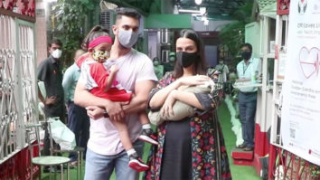Exclusive Neha Dhupia discharged from hospital with her new born baby