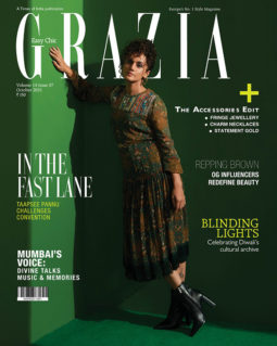 Taapsee Pannu On The Cover Of Grazia