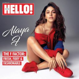 Alaya F On The Covers Of Hello