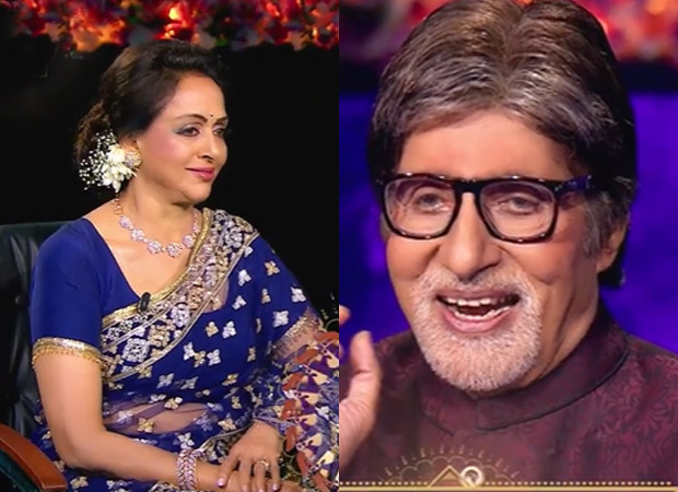 Kaun Banega Crorepati 13: Hema Malini recites Dharmendra's Sholay dialogue, leaves Amitabh Bachchan in splits