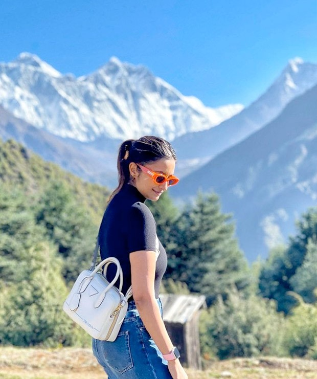 Parineeti Chopra is back to grind on the sets of Uunchai as she thanks the Everest for a valuable lesson