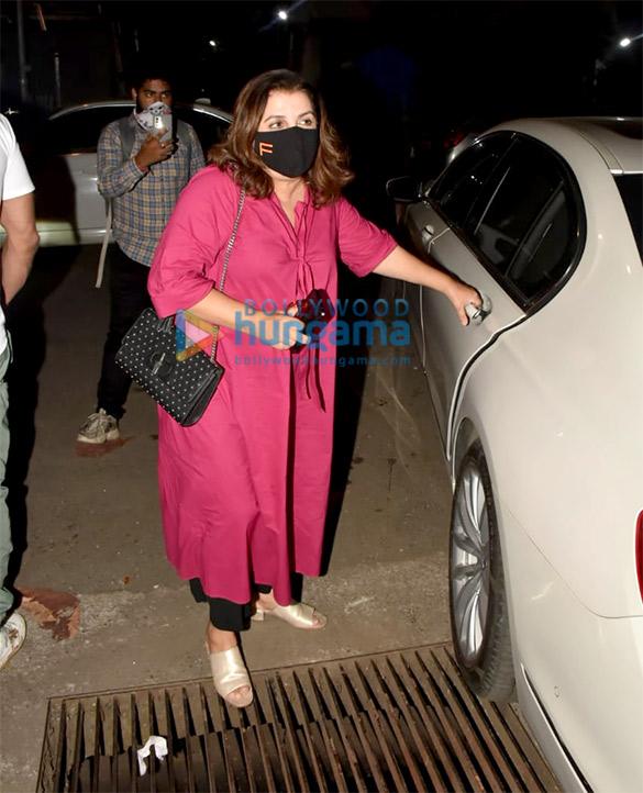 Photos Celebs grace Avinash Gowariker's wife Shazia Gowariker's birthday celebration at a restaurant in Bandra (7)