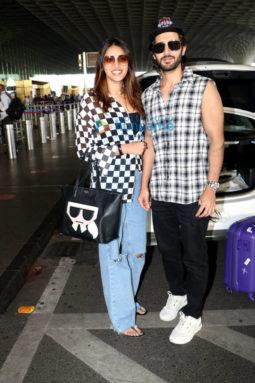 Photos: Daisy Shah, Sonnalli Seygall, Sajid Nadiadwala and others snapped at the airport