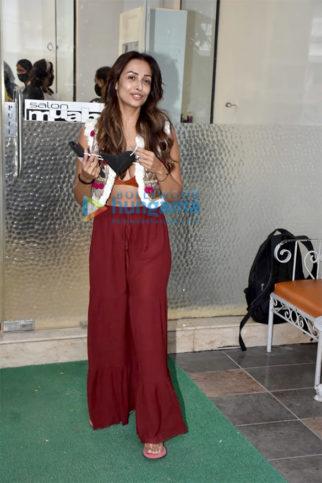 Photos: Malaika Arora at Muah salon in Khar