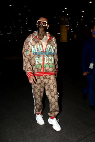 Photos: Ranveer Singh and Nushrratt Bharuccha snapped at the airport