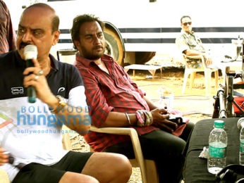 On The Sets From The Movie Hindutva