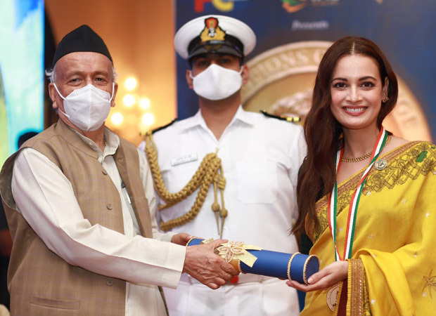 Dia Mirza honoured with the 'Champion of Change' award : Bollywood News – Bollywood Hungama