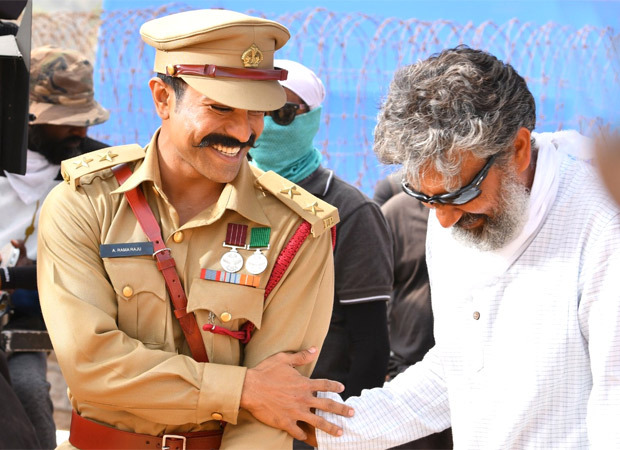 Ram Charan, Jr NTR, and Ajay Devgn share unseen pictures from the sets of RRR to wish SS Rajamouli on his birthday : Bollywood News