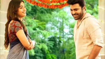 Sharwanand and Rashmika Mandanna starrer Aadavaallu Meeku Johaarlu first look out