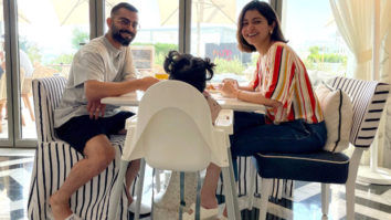 Virat Kohli shares a picture of an intimate breakfast with Anushka Sharma and daughter Vamika