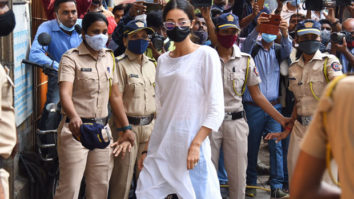 Ananya Panday arrives at the NCB office for questioning hours after raid at her house