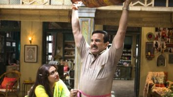 Saif Ali Khan puts on weight to play Bunty, a Railway ticket collector, in Bunty Aur Babli 2