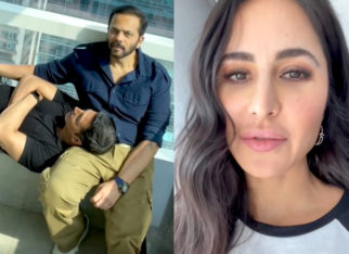 Watch: Akshay Kumar and Rohit Shetty run away from Katrina Kaif as she records their 'excitement' for Sooryavanshi promotions